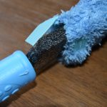 ecloth dusting wand with easy removable sleeve