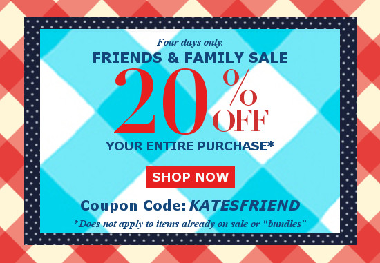 friends and family sale at eclothusa.com